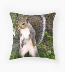 i dance for peanuts Throw Pillow
