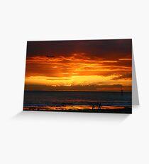 Glenelg Beach Greeting Card