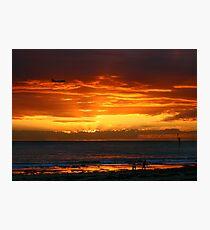Glenelg Beach Photographic Print