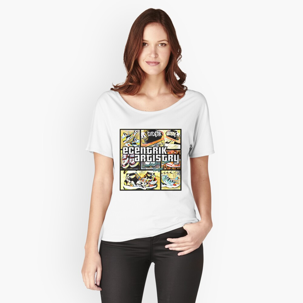 GTE Women's Relaxed Fit T-Shirt Front