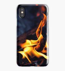Midnight Fire iPhone Case