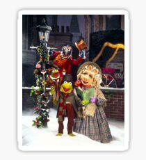Muppet Christmas carol  Sticker