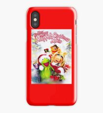 Muppets christmas iPhone Case/Skin