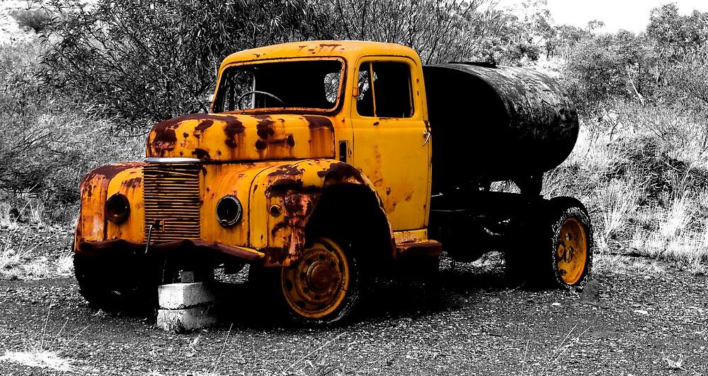 Old Truck by Brendan Smith