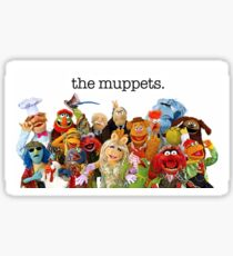 The muppets Sticker