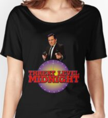 Threat level midnight  Women's Relaxed Fit T-Shirt