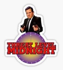 Threat level midnight  Sticker