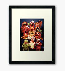 Muppets cast  Framed Print