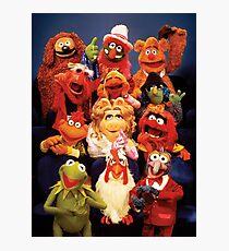 Muppets cast  Photographic Print