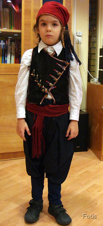Cretan Traditional Outfit by Fotis