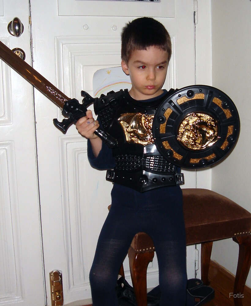 Costumes: A Ferocious Knight by Fotis