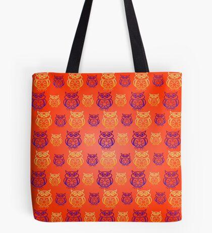 Owl Nation Tote Bag