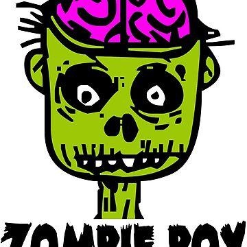 Zombie Boy by zombiemama