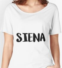 Siena Women's Relaxed Fit T-Shirt