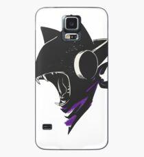 Funda/vinilo para Samsung Galaxy Monster Cat DJ