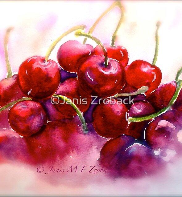 Cherries...Ripe by ©Janis Zroback