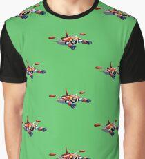 UFO ROBOT Graphic T-Shirt