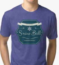Snow Ball Tri-blend T-Shirt