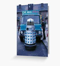 Dalek Carnival [FluxLimbo] Greeting Card