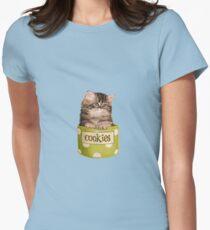 Funny Kitten Women's Fitted T-Shirt