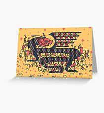 Little Dragon Boi Greeting Card