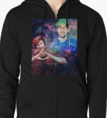 Mark & Jack in the Galaxy! Zipped Hoodie