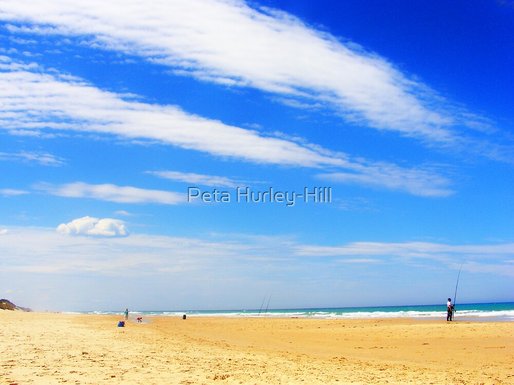Sea and sky by Peta Hurley-Hill