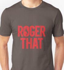 Roger That - Roger Federer Unisex T-Shirt