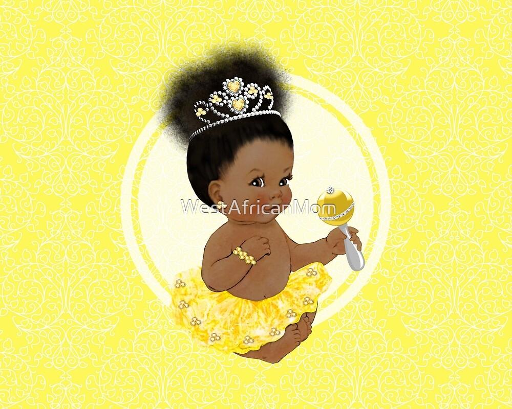 Shimmer & Shine: Sunflower Yellow by WestAfricanMom