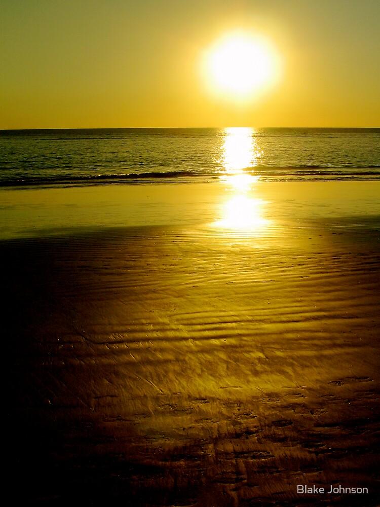 Broome sunset by Blake Johnson