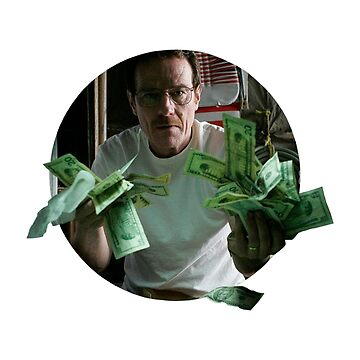 walter white money laundering  by astralfeather