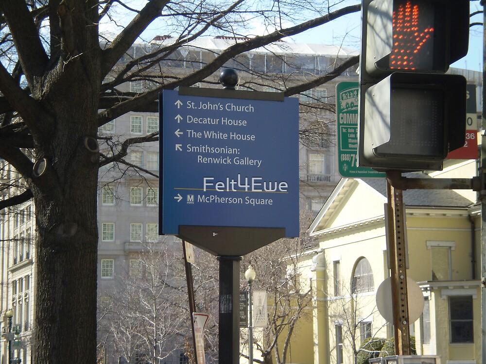 Road sign - Washington, DC by Felt4Ewe