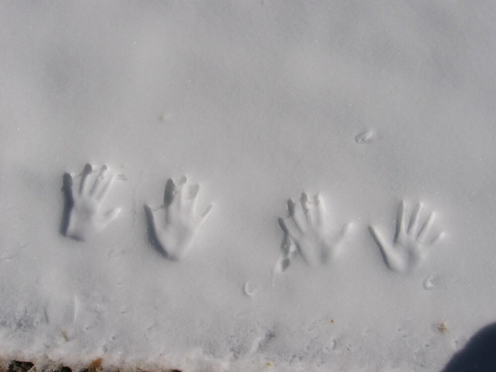 Handprints by mamachip