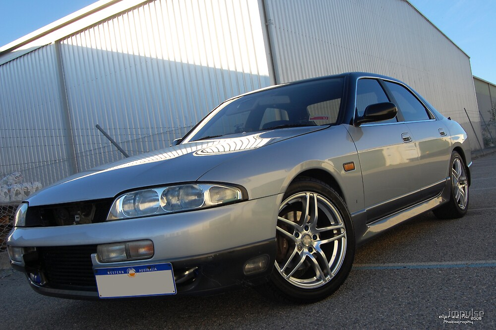 Nissan R33 Skyline Sedan by impulse