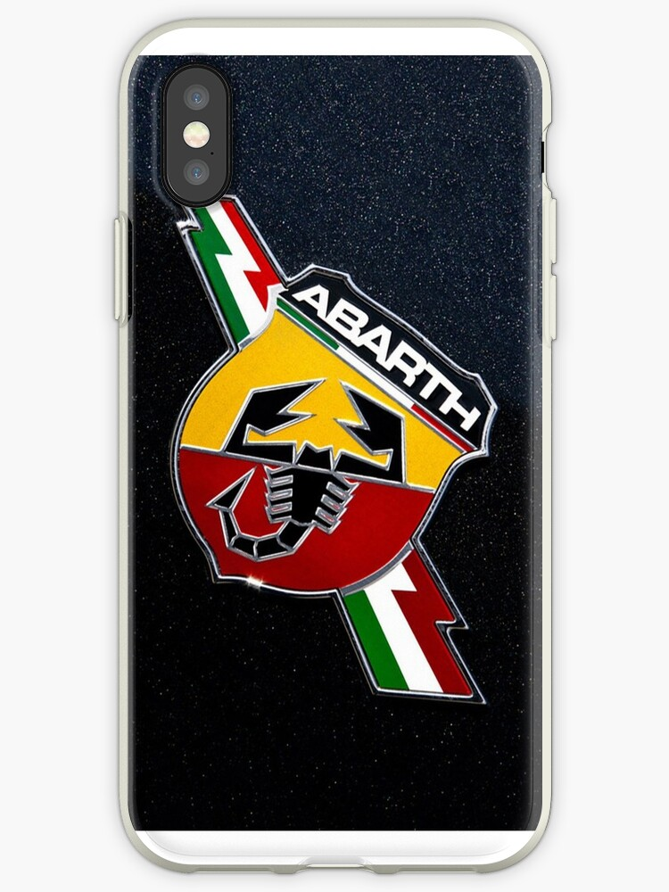 the latest 114fb 8cd48 'Fiat 500 Abarth Logo' iPhone Case by brunelacelin