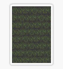 Monster Mash- Green Sticker