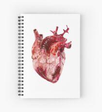 Cuaderno de espiral Coeur Anatomique