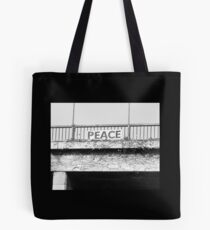 Peace on a Los Angeles Freeway Tote Bag