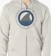 save our sharks Zipped Hoodie