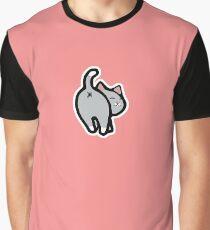 Bitmoji Cat Butt Shirt Graphic T-Shirt