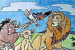lion king by pinkyfizz