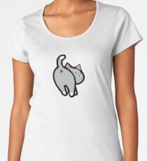 Bitmoji Cat Butt Shirt Women's Premium T-Shirt