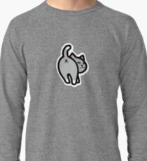 Bitmoji Cat Butt Shirt Lightweight Sweatshirt
