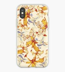 Irisses & Coriander Pattern iPhone Case
