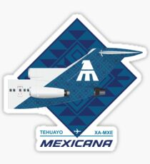 B727 TEHUAYO Sticker