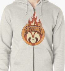 Vintage - Republic City Fire Ferrets Zipped Hoodie