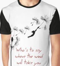 u2 kite for white Graphic T-Shirt