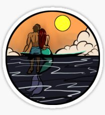 The End of Summer Sticker