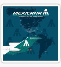 MEXICANA ROUTES Sticker