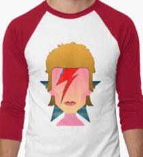 My Tribute to Starman  Men's Baseball ¾ T-Shirt